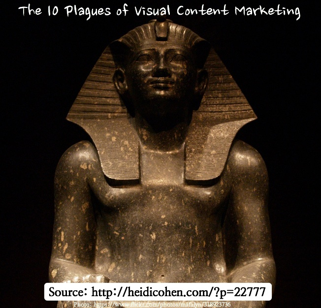 10 Plagues of Visual Content Marketing