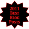 2011 best blog posts