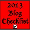 2013 Blog Checklist - 13 steps -Heidi Cohen