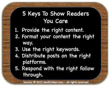 5 Keys to show readers you care-1