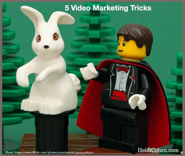 5 Video Marketing Tricks