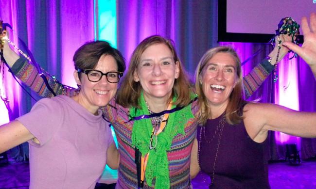 Ann Handley, Heidi Cohen, Julie Pildner at Marketing Profs B2B 2015