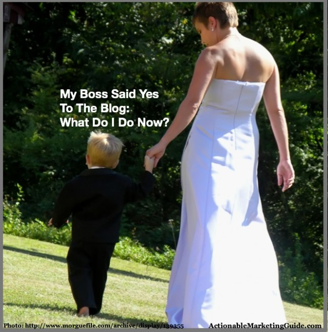 Successful Business Blog is like a wedding dress