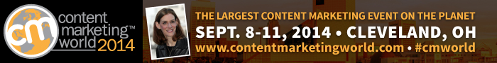 Heidi Cohen at Content Marketing World 2014