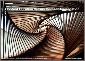 Content Curation Versus Content Aggregation
