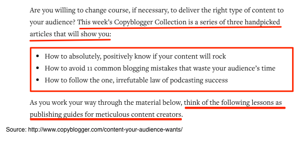 Copyblogger Content Curation - Continued