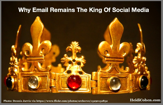 Why email remains the king of social media