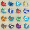 Free Social Media Iconsby Dawghouse Design Studio