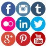Geek Fairy | Free coloured round social media icons