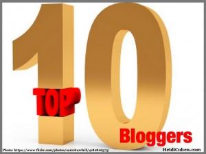Gold top 10 winner-Top 10 Bloggers
