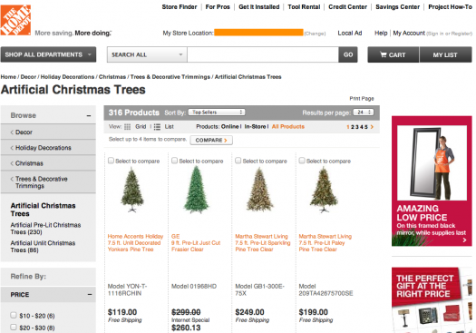 Home depot s blog the apron went beyond decorating their blog