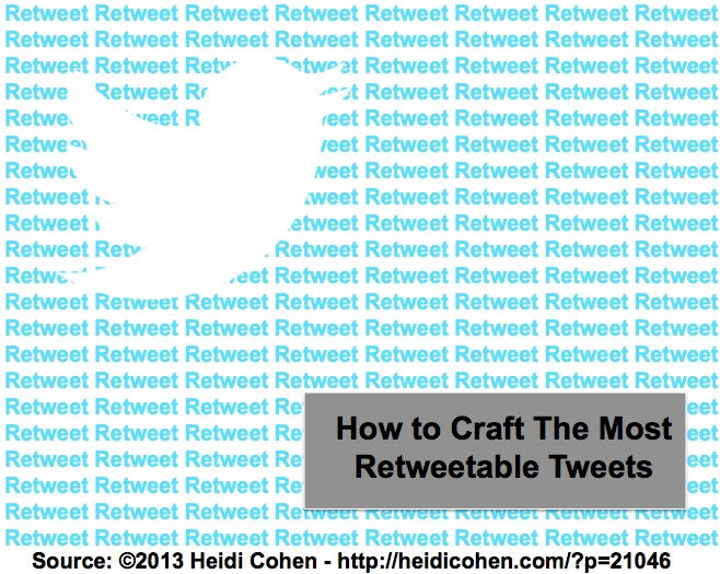 Twitter Tips Based On Research From Heidi Cohen