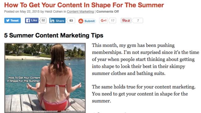 summer ready blog tips