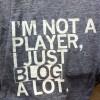 I blog alot