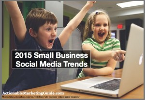 Kids at computer-2015 Small Business Social Media Trends-1