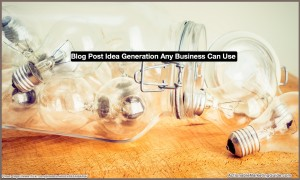 Light Bulbs- Blog Post Idea Generation-4