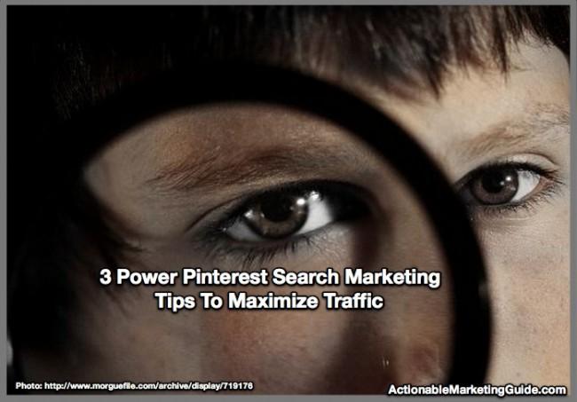 Power Pinterest Search Marketing Tips