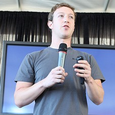 Mark zuckerberg of Facebook via Robert Scoble