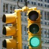 New York - Overhead Traffic Lights