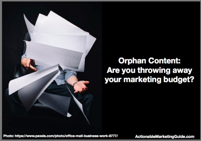 Orphan Content