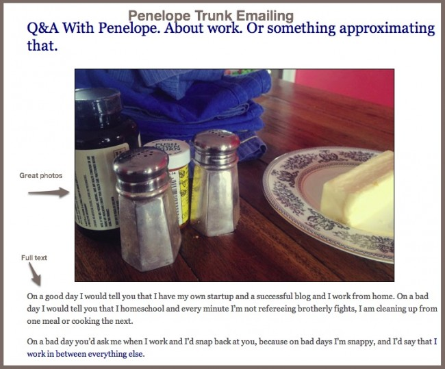 Penelope Trunk email