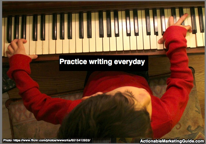 Practice Writing Everyday