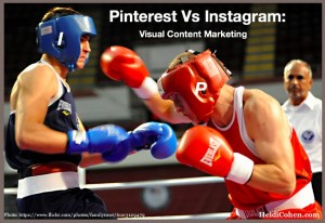 Pinterest vs Instagram-Visual Content Marketing
