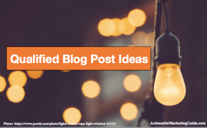 3 places to look for qualified blog post ideas