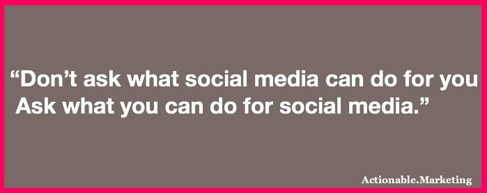 President  Kennedy Social Media
