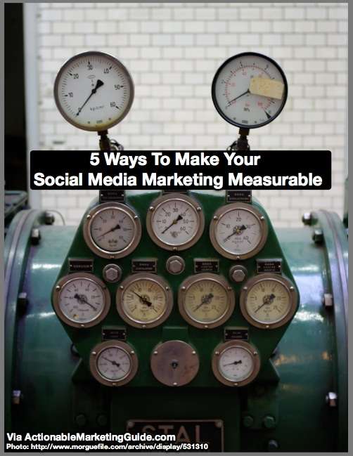 How to make your social media more measurable