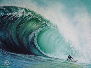 Social media is like riding the wave