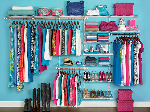 Rubbermaid Organizes closet on Flickr