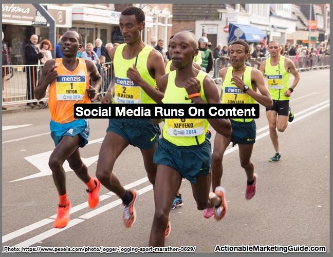 Social Media Runs On Content