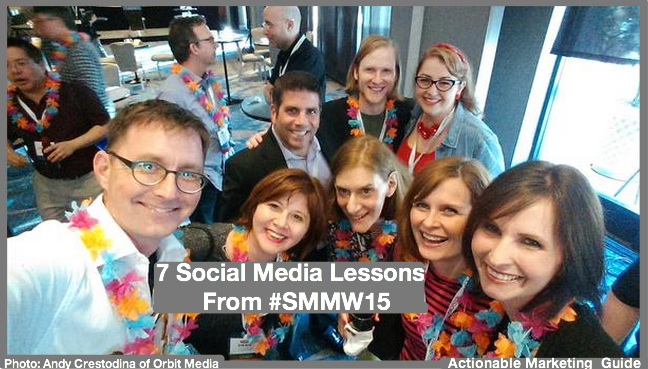 7 Social Media Lessons From #SMMW15
