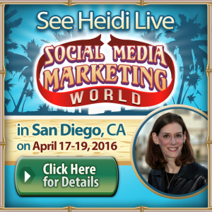 Social Media Marketing World 2016 Promotion