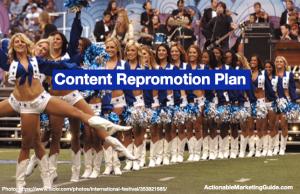 Content Repromotion Plan