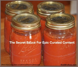 Secret Sauce For Epic Curated Content