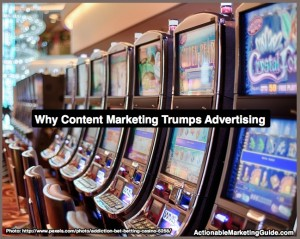 Content marketing trumps advertising