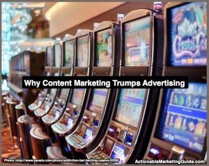 Content marketing trumps advertising