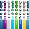 Social Media Icon Sets - SkyTechGeek