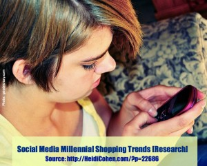 Social Media Millennial Shopping Trends