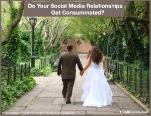 Social media relationship in Central Park