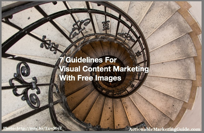 Seeing beyond the steps-Visual Content Marketing With Free Images