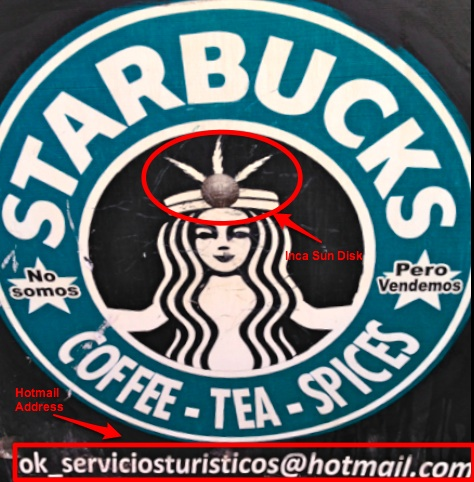 Starbucks Coffee Stand in Peru-Heidi Cohen-1