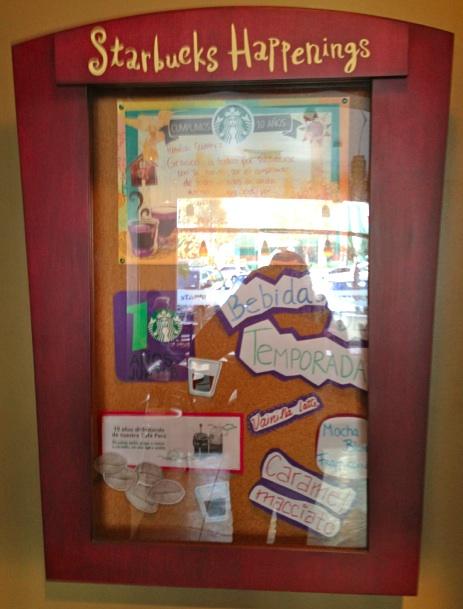 Starbucks Happenings -Lima Peru-Heidi Cohen-1