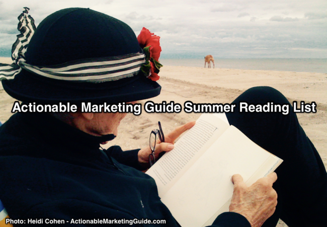 Actionable Marketing Guide Summer Reading List