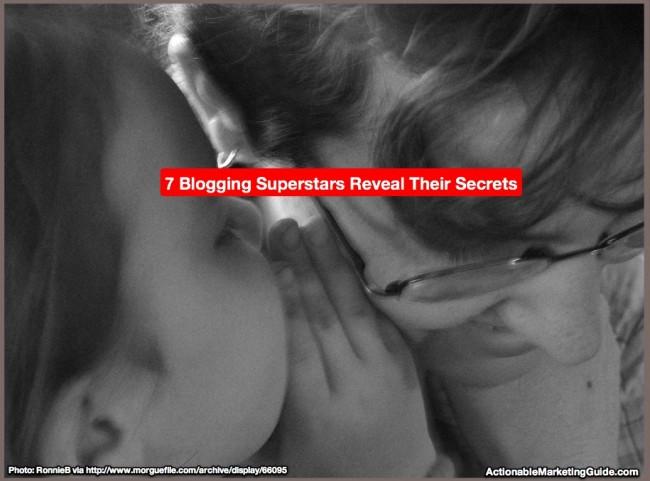 Blogging Superstars Tell Their Secrets