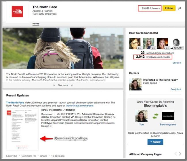 B2C Social Media Use - LinkedIn
