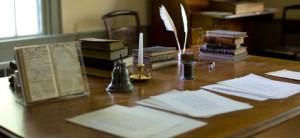 melville-writing-desk