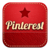 pinterest retro icon